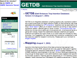 GETDB - Gal4 Enhancer Trap Insertion Database